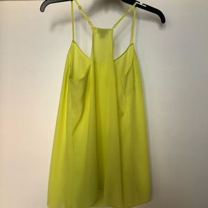 Bright yellow/yellow- green cami